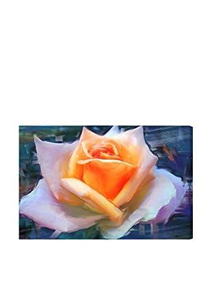 Oliver Gal Blush Rose Canvas Art