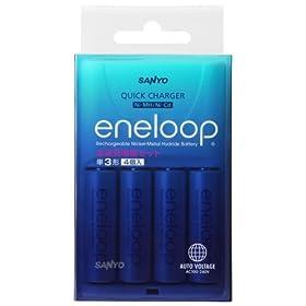 SANYO 「eneloop」 急速充電器セット
