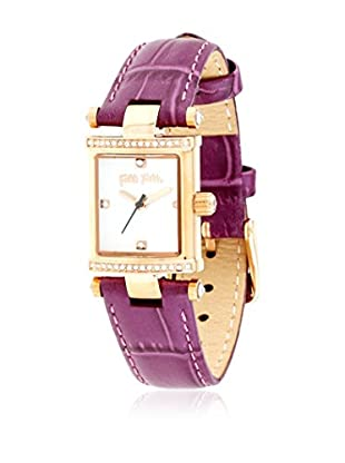 Folli Follie Reloj con movimiento Miyota Woman Slog-Square Logic 20 mm