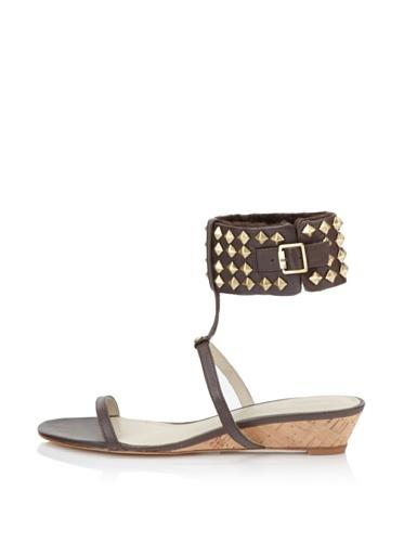 Koolaburra Women's Gabby Demi Wedge Sandal (Chocolate)