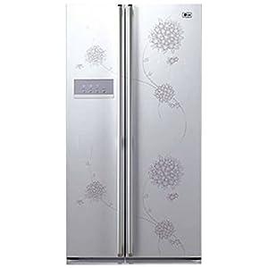 LG GC-B217BPJV Refrigerator-White