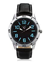 RICO SORDI Mens Black Leather Watch_RSMW_L6