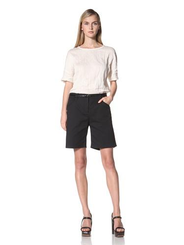 JIL SANDER NAVY Women's Cotton Short (Navy)