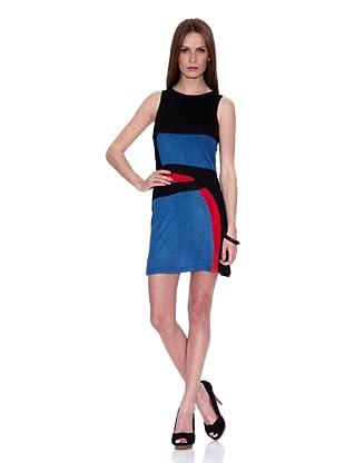 HHG Vestido Ingrid (Negro / Azul)