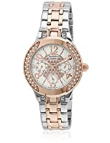 She-3803Sg-7Audr-Sx106 Golden/White Analog Watch