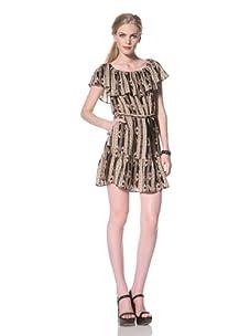 DV by Dolce Vita Women's Lucero Off-the-Shoulder Dress (Multi)