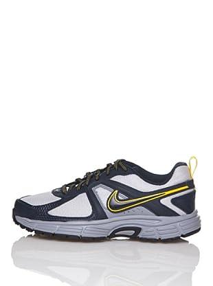 Nike Zapatillas Running Dart 9 (Gs/Ps) (Gris / Marino)
