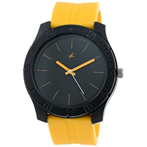 Fastrack Men's 3062PP16 Colorful Tees Analog Quartz Watch