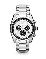 Emporio Armani Men's AR6007 Sportivo Analog Display Analog Quartz Silver Watch