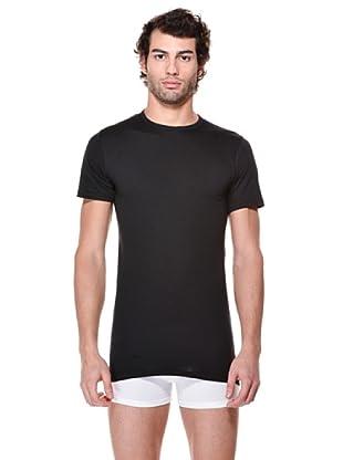 Cotonella Pack de 2 Camisetas Manga Corta (negro)