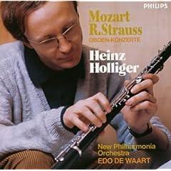 CD ハインツ・ホリガー(Oboe) モーツァルト&R.シュトラウス:オーボエ協奏曲の商品写真