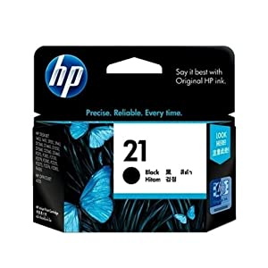 HP 21 Inkjet Cartridge - Black