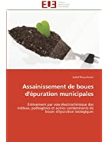 Assainissement de Boues D'Epuration Municipales (Omn.Univ.Europ.)