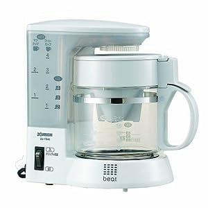 【クリックで詳細表示】ZOJIRUSHI コーヒーメーカー 【カップ約1~4杯】 EC-TB40-WG ホワイトグレー