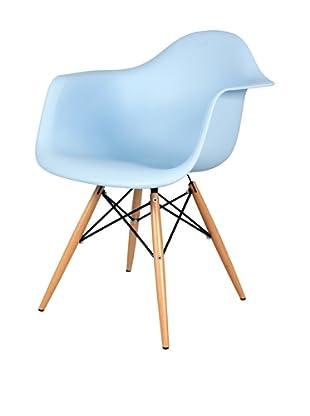 Control Brand Mid-Century-Inspired X-Leg Arm Chair
