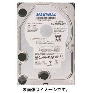 【クリックで詳細表示】MAL3160SA-W72 MARSHAL3.5HDD (160GB 7200rpm S-ATA): パソコン・周辺機器