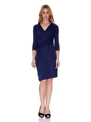 Salsa Vestido Oura Regular (Azul Oscuro)