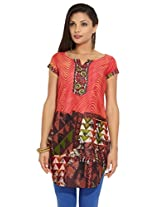 Diva Ladies Cotton Printed Kurta