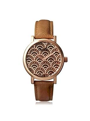 Nanette Lepore Women's 80699 Beige/Brown Alloy Watch
