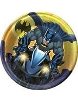 Batman The Dark Knight Plate (S) 8ct [Contains 4 Manufacturer Retail Unit(S) Per Amazon Combined Package Sales Unit] Sku# 1 Pl2436