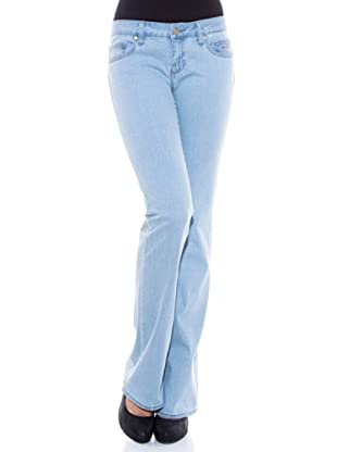 7 Seven LA Pantalón Madonna (Azul Claro)