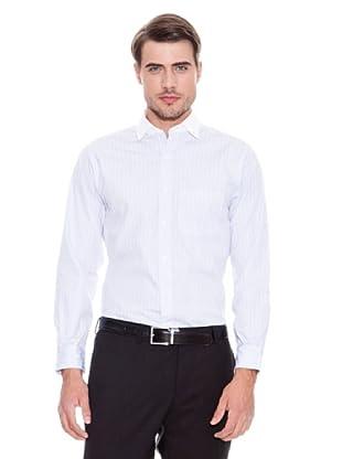Brooks Brothers Camisa Vestir Andelin (Azul Claro / Blanco)