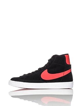Nike Zapatillas Blazer Mid Vintage (Gs) (Negro/Naranja)