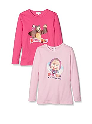 Fantasia Pack x 2 Camiseta Manga Larga Masha & Bear