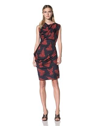 Vivienne Westwood Women's Anglomania Fond Dress (Navy/Print)