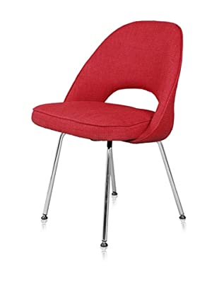 Control Brand Mid Century-Inspired Side Chair (Red)