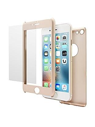 UNOTEC Pack Protección iPhone 6/6S Dorado
