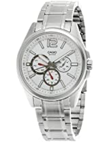 Casio Enticer White Dial Men's Watch - MTP-1355D-7AVDF (A722)