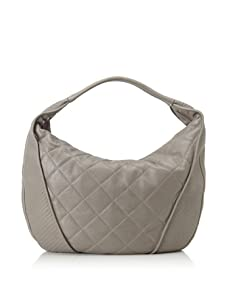 Christopher Kon Women's Adele Large Quilted Hobo (Grey)