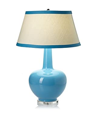 Lighting Accents Porcelain Urn Table Lamp (Turquoise)