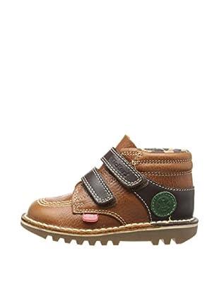 Kickers Botas Leather IM (Marrón)