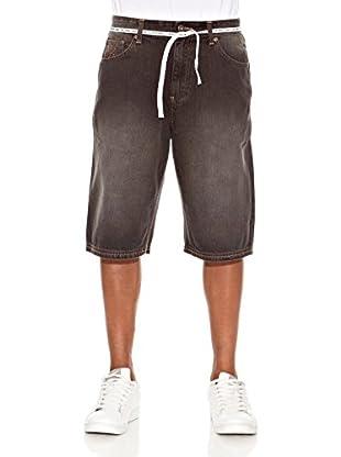 Grimey Wear Bermuda Vaquero Gbl (Negro / Caqui / Piedra)