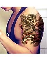Tattoo Stickers Fire Kirin Designs Body Sticker Waterproof Temporary Fake Tattooing