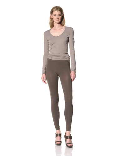 RICK OWENS Women's Leggings (Dark Dust)