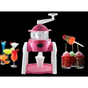 Accedre Manual Gola Maker with Slush maker and Ice Crusher