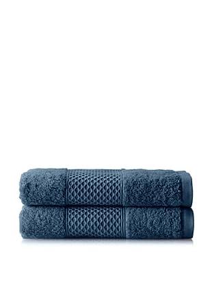 Anne de Solène Gourmandise Set of 2 Guest Towels, Liqueur De Bluets, 16