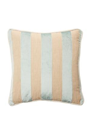 Chateau Blanc Sophie Stripe Pillow, Spa/Neutral, 18