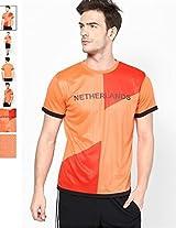 T10 Sports Boys' Netherlands Fan Jersey 10YR Orange