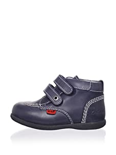 Kickers Kid's Babykick 1 Boot (Infant/Toddler) (Navy blue)