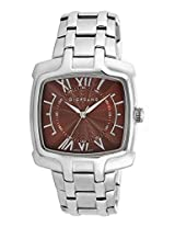 Giordano Analog Brown Dial Men's Watch 1377-33