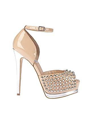 Steve Madden Zapatos Peep Toe Obstcl (Nude)