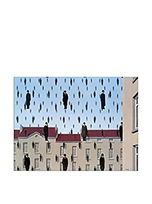Artopweb Panel Decorativo Magritte Golconde 80x60 cm Bordo Nero