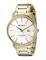 Armitron Men's 20/5032SVGP Date Function Dial Gold-Tone Bracelet Watch