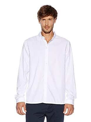 Solid! Camisa Casual (Blanco)