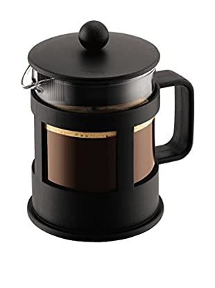Bodum Cafetera Kenya French Press 4 Cups 0.5 L Negro