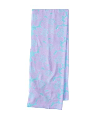 Raj Imports Women's Flower Scarf (Purple)